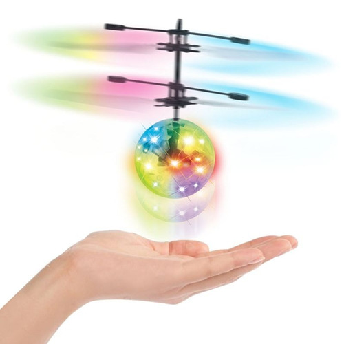 Bola Voladora Helicoptero Dron Esfera Velocidad Sin Limites