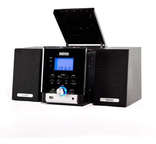 Minicomponente Daewoo Dmw-8021 Mp3/cd/cdr/w 750w