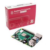 Raspberry Pi 4 Model B 4gb Element14 Uk Placa Sbc Original