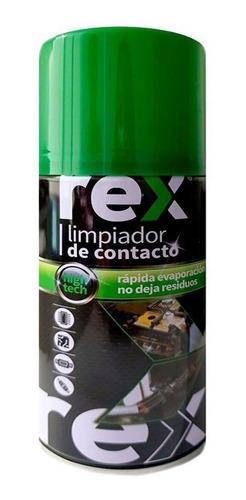 Pack 12 Rex Limpiador De Contacto 300 Ml