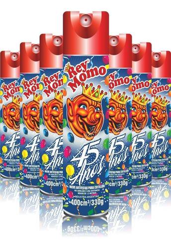 Nieve Espuma Rey Momo 400 Cm3 - Carnaval  X 24 U - Lollipop