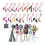 Sapato Bota Para Boneca Monster High Ever After 59 Modelos Original
