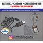 Drone C7  1315   - Kit Bateria 3.5/220mah + Carregador Usb Original