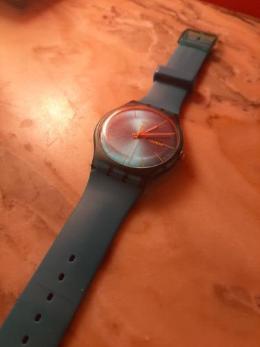 Reloj Swatch Sr 1130sw Celeste