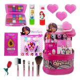 Kit Infantil Criança De Maquiagem Com Meletinha Make Linda