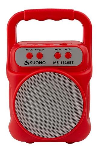 Parlante Portatil Bluetooth Inalambrico Radio Fm Micro Sd Potente Sonido Diseño Compacto Practico