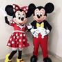 Mickey E Minnie Mascotes Personagens Vivos Festas Fantasia Original