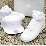 Tenis Nike Air Force One Alto [ Croki Croqui Crockeer ] 2020