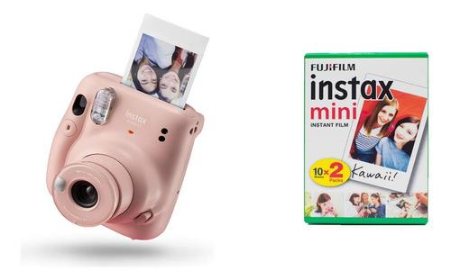 Fujifilm Instax Mini 11 Camara Instantánea + Cartucho 20 Pel