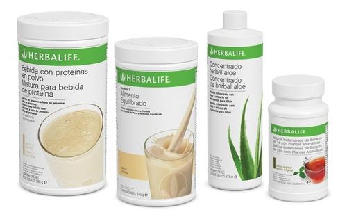Batido 550gr + Te Herbal 51gr + Herbal Aloe + Proteina Pdm