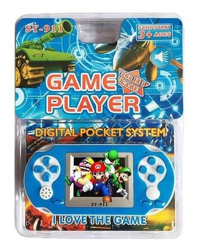 Consola Portatil Juegos Retro 8 Bits A Pilas  Sy 911 Family