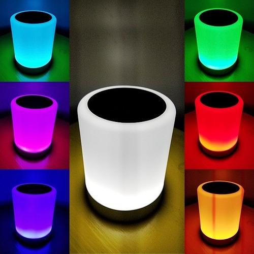 Speaker Parlante Bluetooth Con Luz Led Regalos Originales