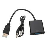 Convertidor De Hdmi A Vga Con Sonido (incluye Cable Audio)