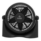 Ventilador De Pared Y De Piso Indelplas Iv12 Turbo Negro Con 5 Palas De  Plástico, 12  De Diámetro 220v