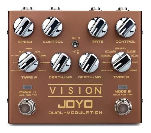 Pedal Joyo Vision - Dual Channel Modulation - En Chile