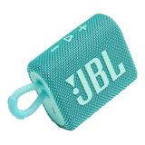 Alto-falante Jbl Go 3 Portátil Com Bluetooth Teal