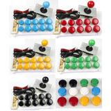 Kit Arcade Mame Bartop Retro Consola Palanca Botones Placa