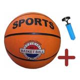 Pelota Basketball Basquet Sports Niños Adultos + Inflador LG