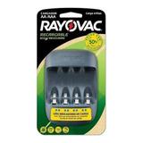 Cargador Rayovac Eco 2.5hs Pilas Aa Y Aaa Usb