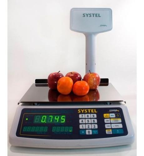 Balanza Digital Systel Croma