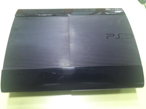 Ps3 Ultra Slim 250 Gb Usada 20 Juegos Instalados