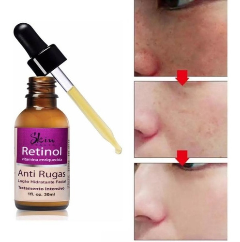 Serum Retinol Anti-idade Vitamina A Skin Health 30ml