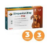 Antiparasitario Simparica 20mg - 5 A 10kg - 3 Tabletas
