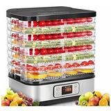 Máquina Deshidratadora De Alimentos Con 1 Bandeja, 100 W, Pa