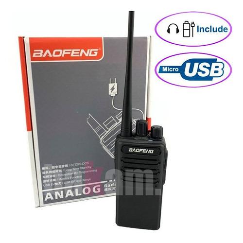 Oferta! Radio Baofeng Bf-c2 Uhf Walkie Talkie Entrada Usb
