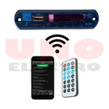 Modulo Receptor De Audio Bluetooth Fm Mp3 Sd Card Unoelectro
