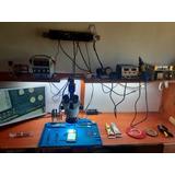 Microscopio Trinocular Estacion De Soldar Fuente De Poder
