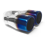 Colilla De Escape Deportiva Dual Blue Flame Avt208 Bt