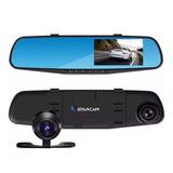 Espejo Retrovisor Camara Frontal Testigo Para Auto Hd + Camara Trasera Video Filmadora + Cuotas