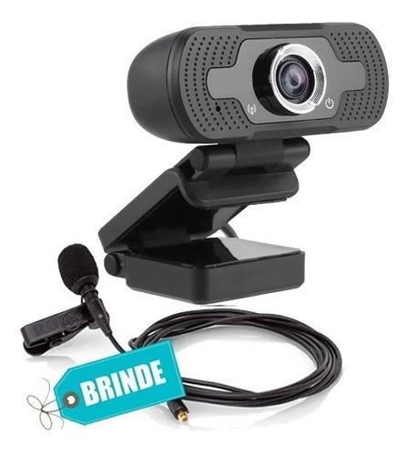 Webcam 1080p Full Hd  Câmera Computador Microfone P/envio
