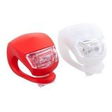 Potente Luz Led De Silicona Para Bicicleta X2 Febo
