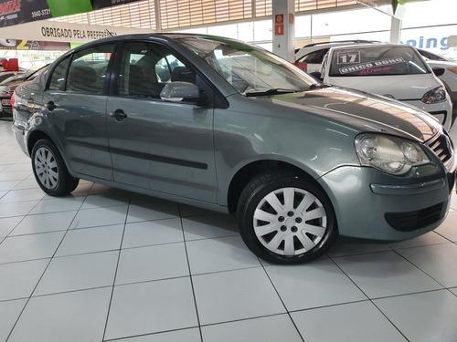 VW POLO SEDAN 1.6 FLEX I MOTION 2011 APENAS 60 MIL KM COURO