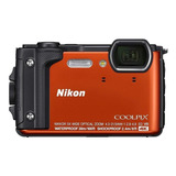 Nikon Coolpix W300 Compacta Color  Naranja