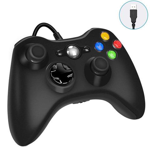 Joystick Xbox 360 Para Pc Con Cable Usb En Blister