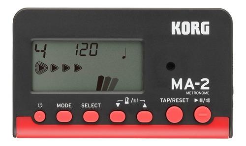 Metrónomo Digital Korg Ma-2 Para Inst. Orquestas