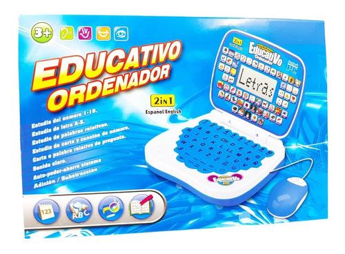 Ordenador Didactico Educativo Para Niños Y Niñas