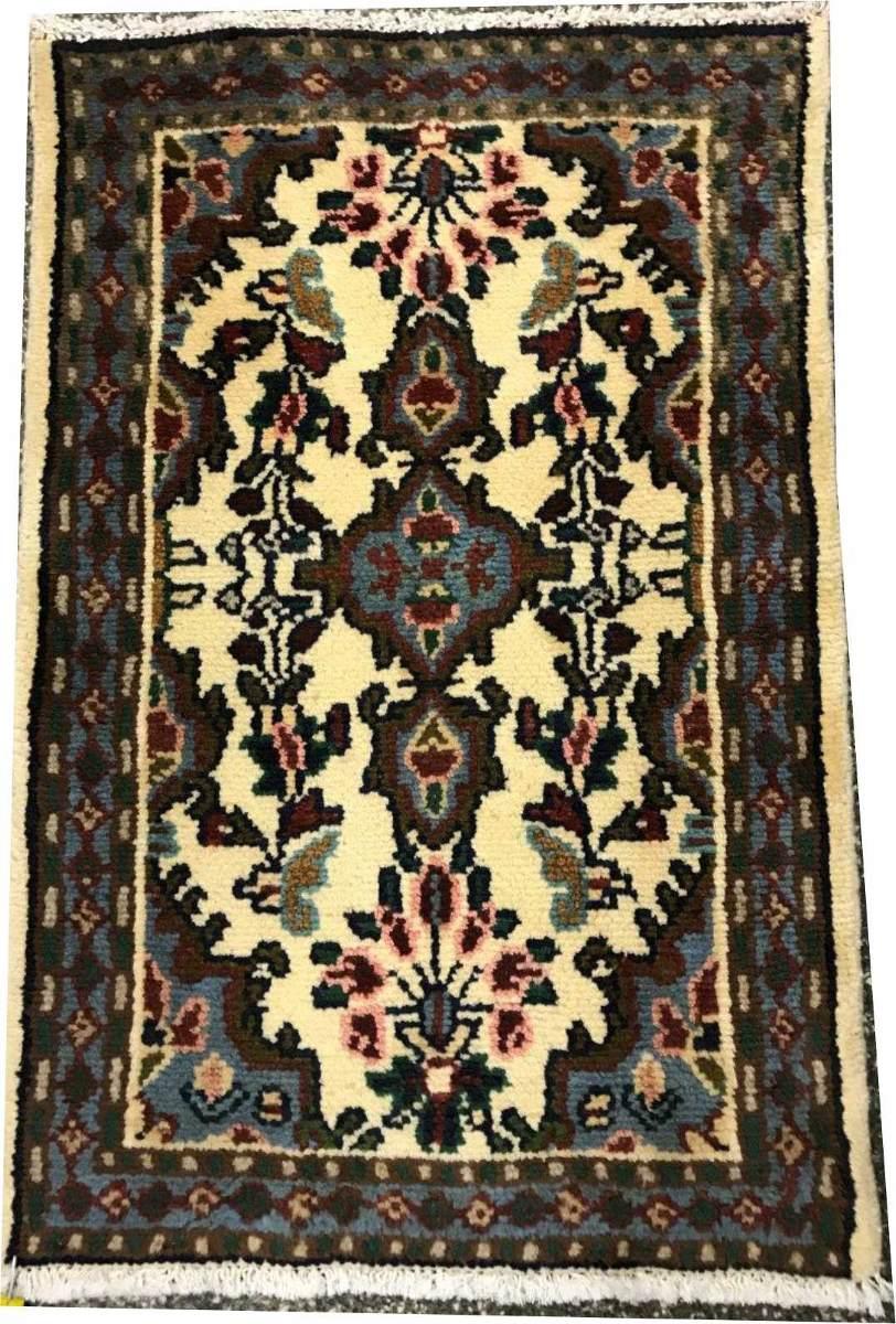 Tapete Persa Hamadan 75x53cm Handmade Legitm Rustico Shiraz