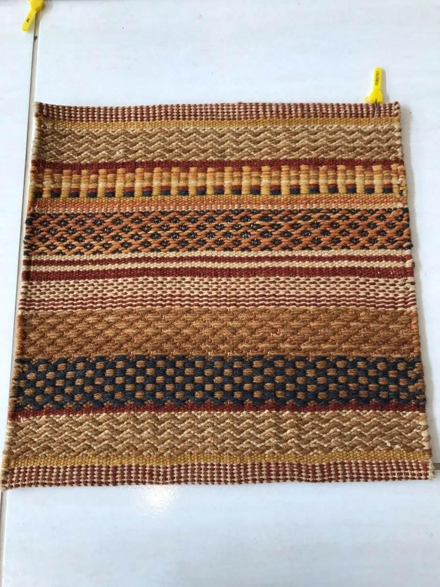 Tapete Kilin Indiano Tons Pasteis 40x40cm Handmade Tem Par!
