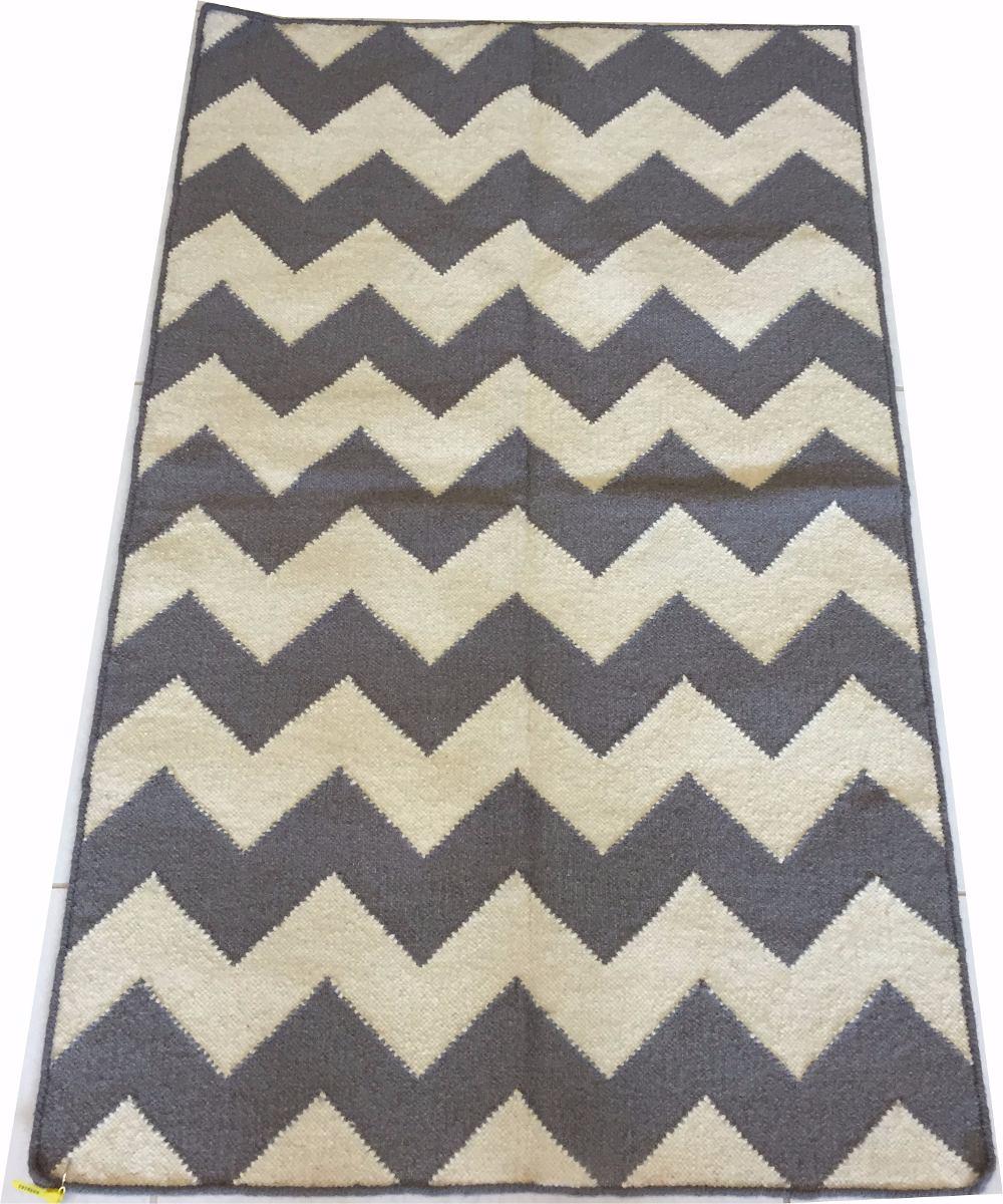 Kelim Chevron Zigzag Listrado Geometrico 1.5x1m 152x92cm Art