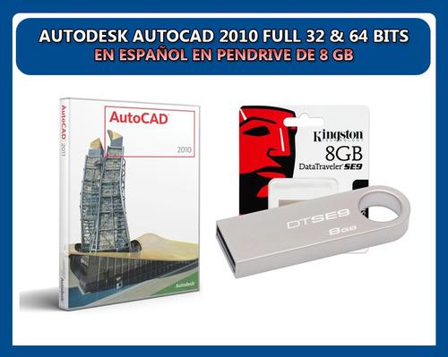 Autocad 2010 64 bits espaol autos post
