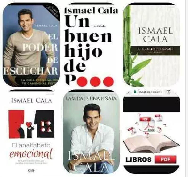 Coleccion de 5 libros de ismael cala en pdf u s 1 00 en mercado libre