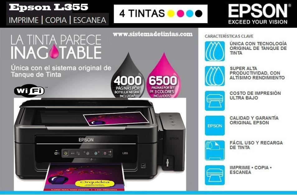 User manual epson l355