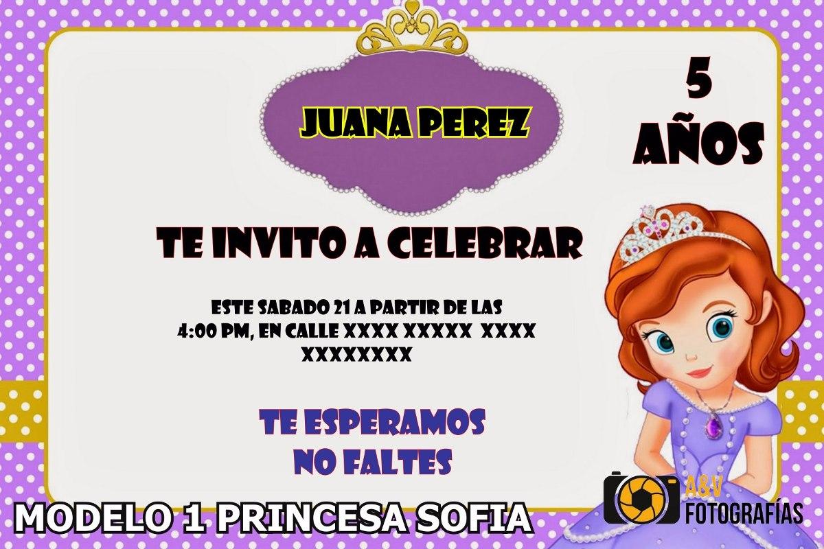 Tarjetas Cumpleaños Sofia