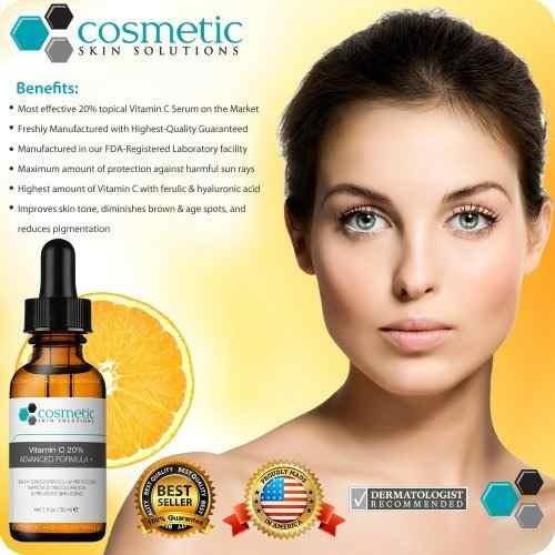# 1 mejor vitamina c 20% serum + ácido ferúlico y