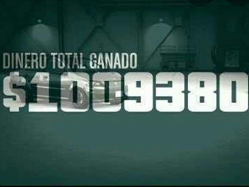 $ 1 millón de dólares -ps4 -gta v- $ 1'000,000.