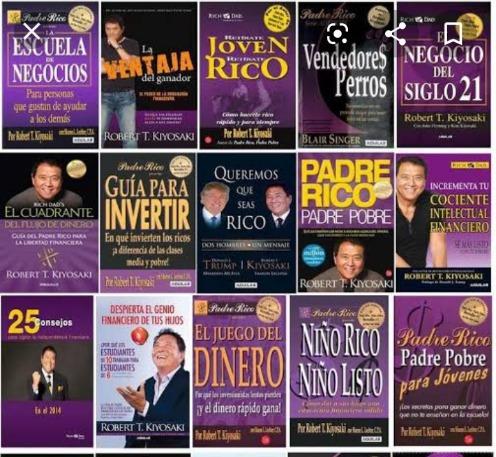 +100 libros de finanzas y desarrollo personal